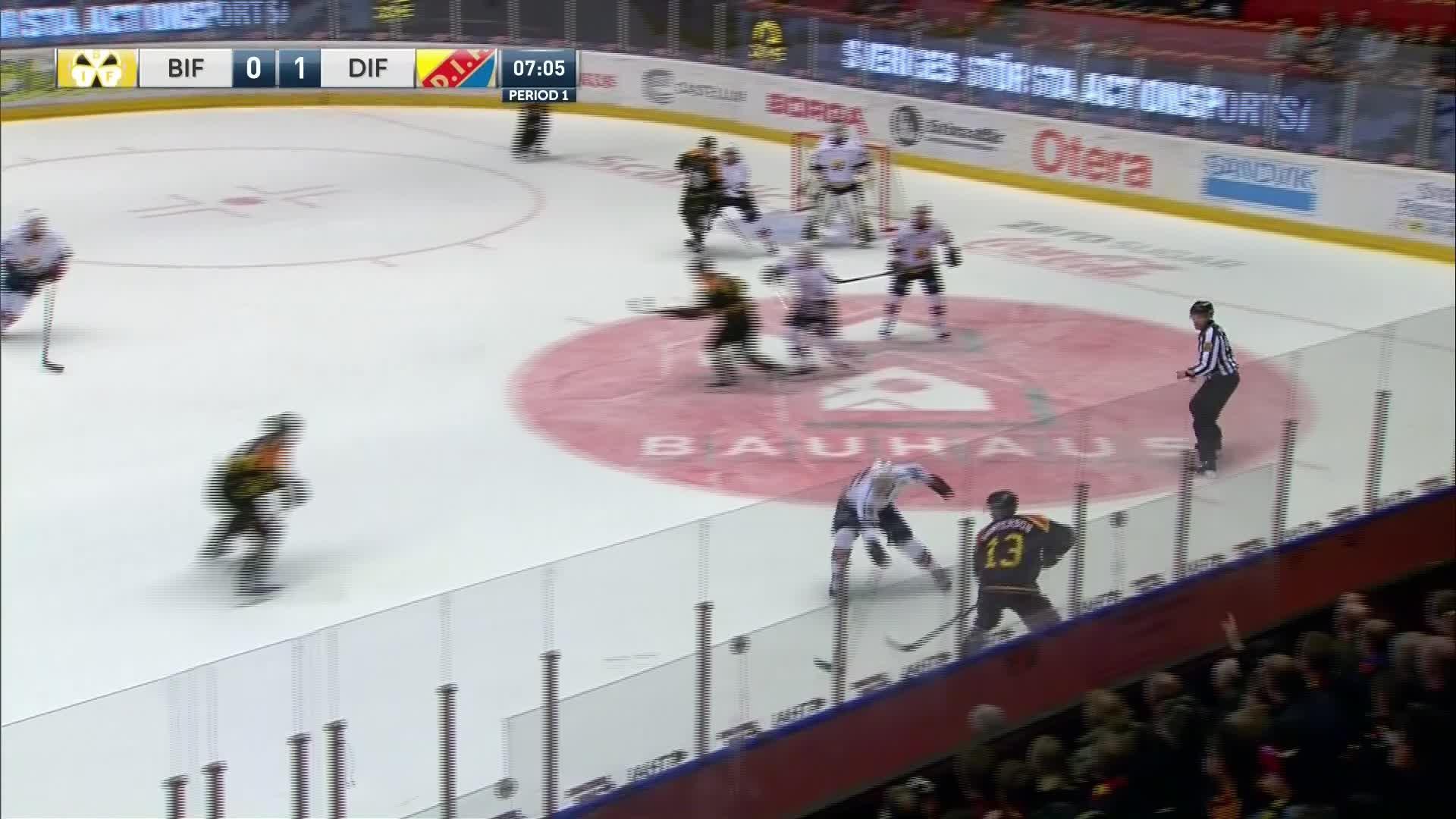 Brynäs IF - Djurgården Hockey 1-1