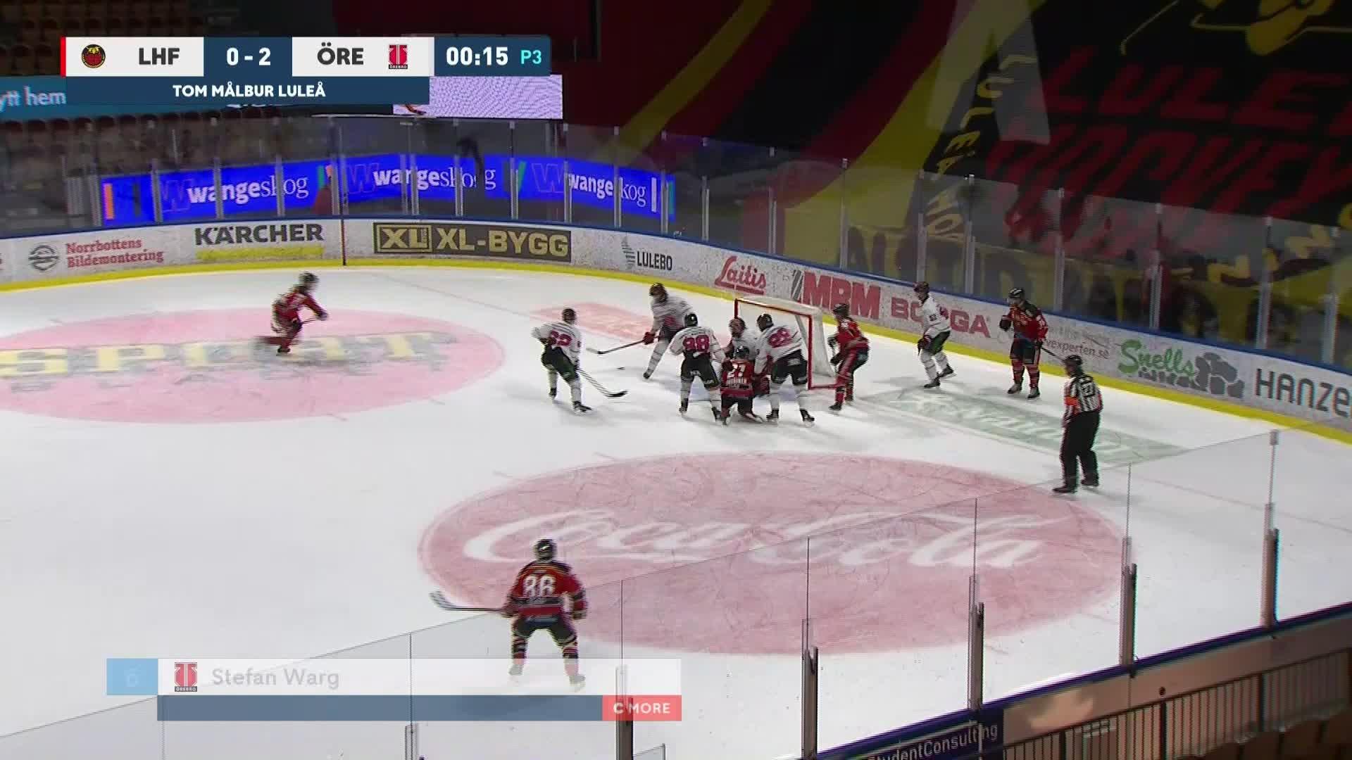 Luleå Hockey - Örebro Hockey 0-3
