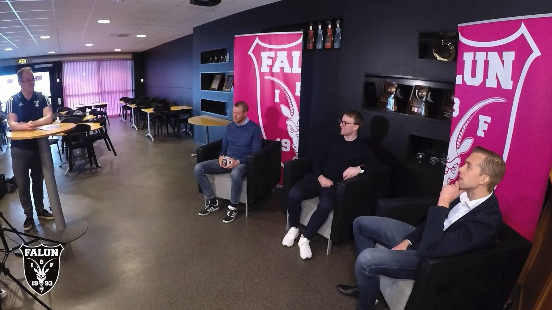 Studio IBF Falun inför SM-finalen del 2