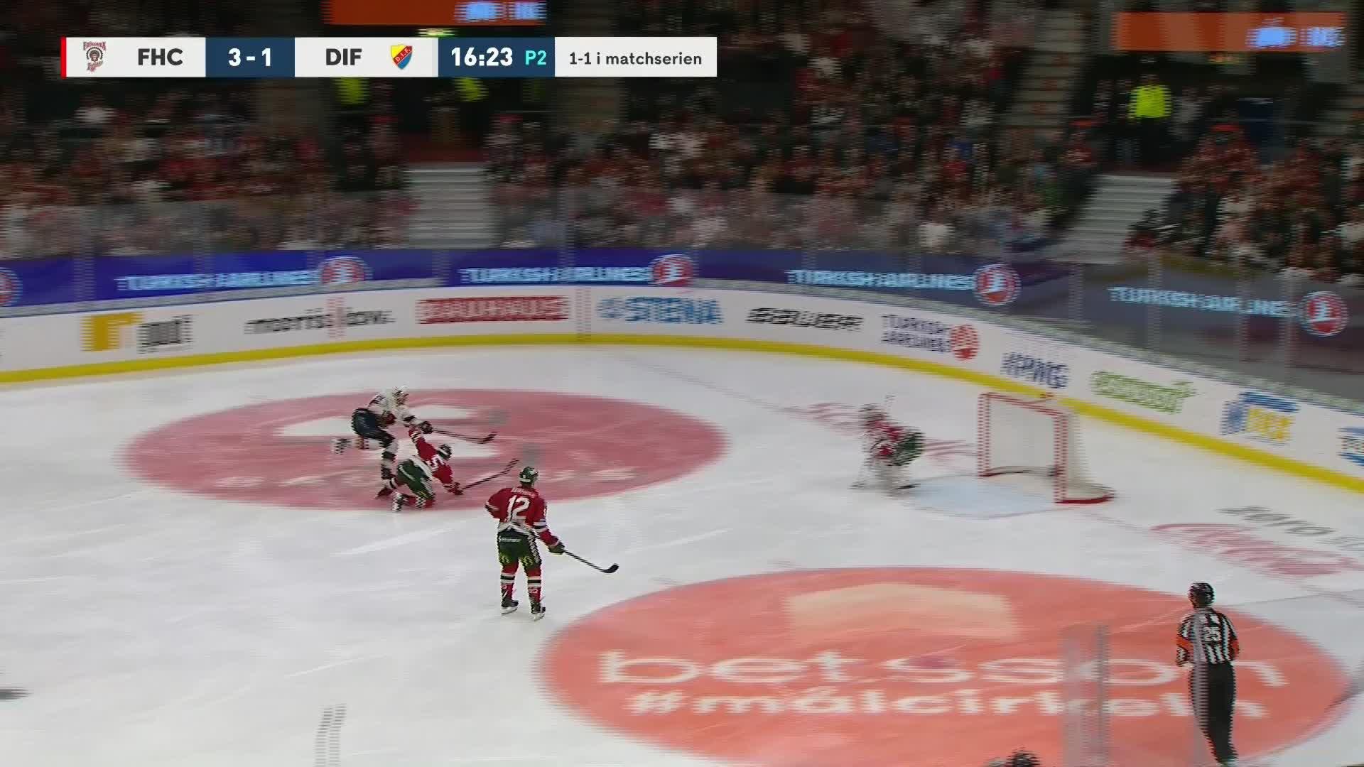 Frölunda HC - Djurgården Hockey 3-2