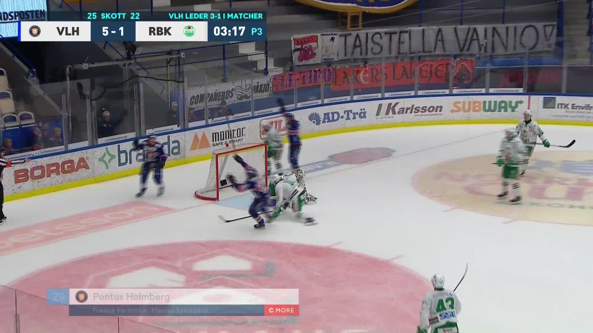 Växjö Lakers - Rögle BK 6-1