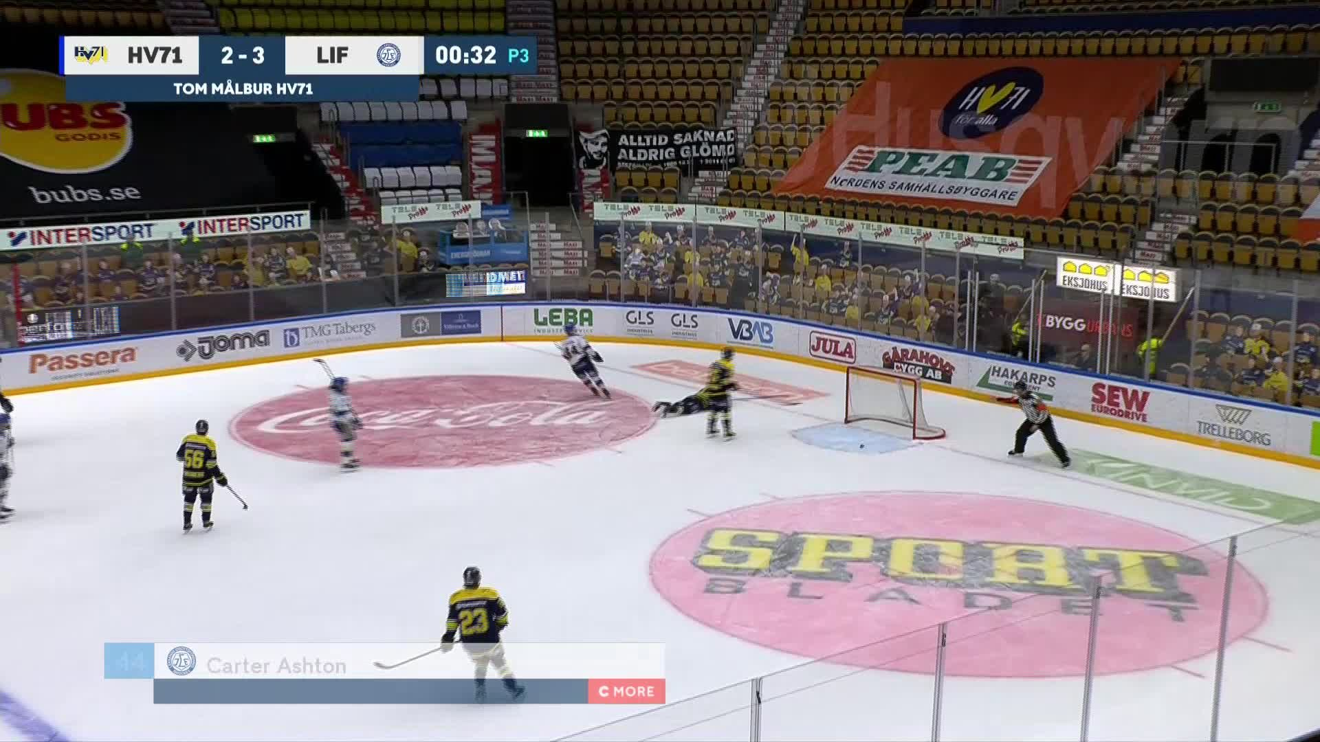 HV71 - Leksands IF 2-4