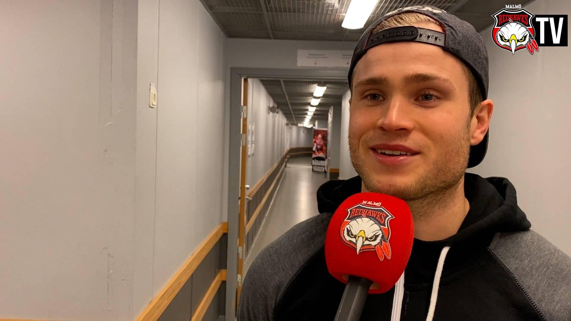 TV: Forsberg om gårdagens sköna seger