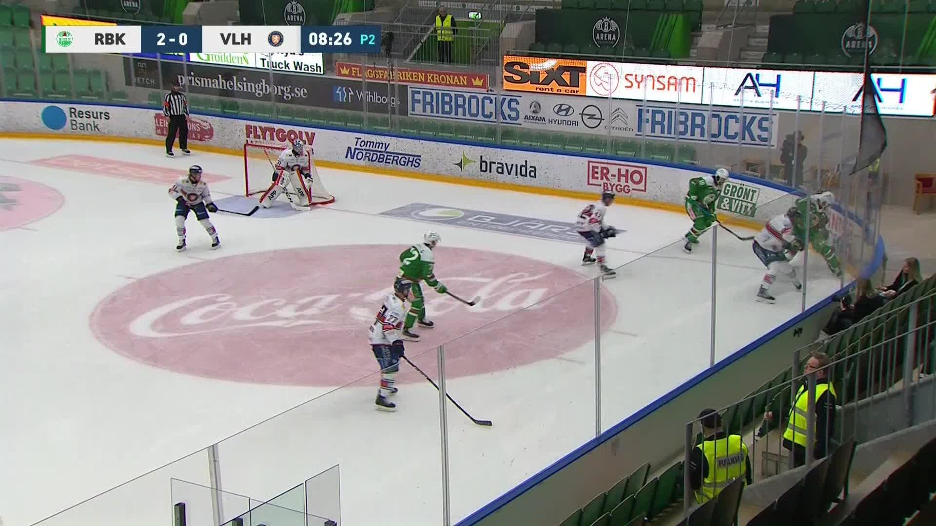 Rögle BK - Växjö Lakers 3-0