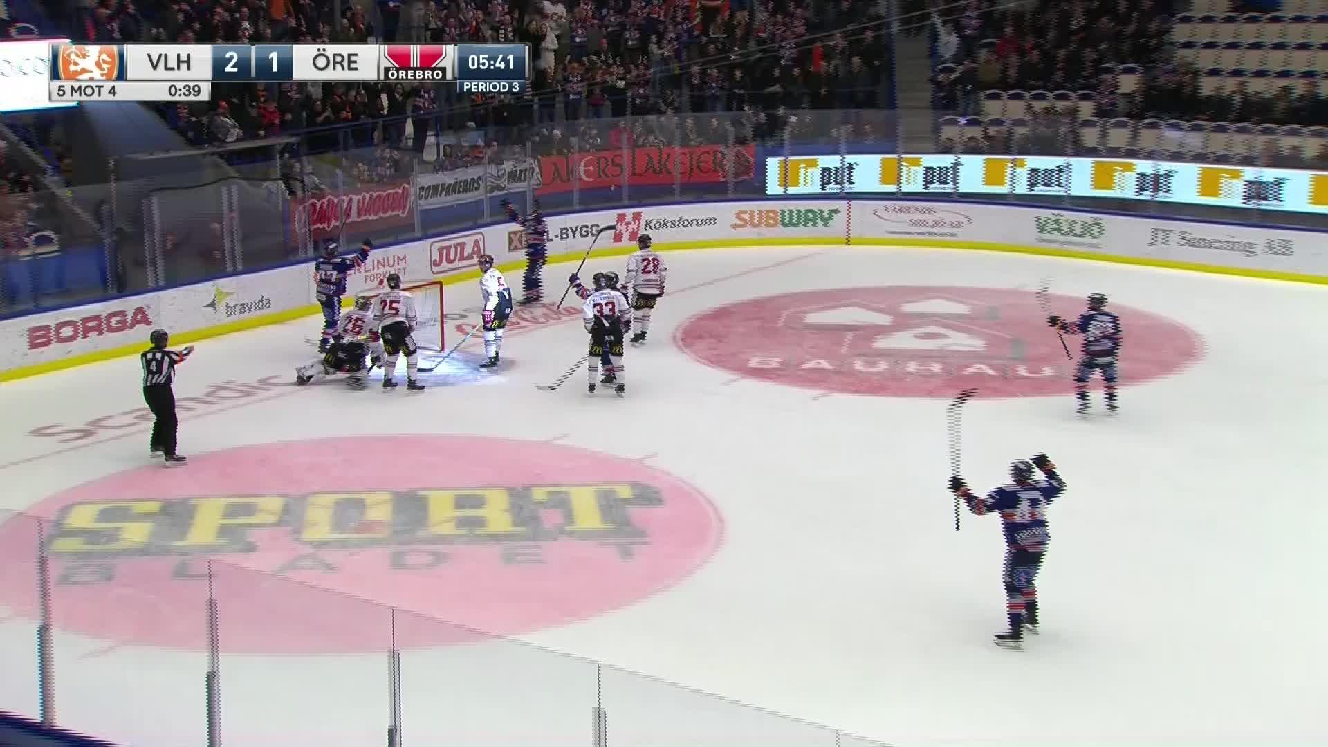 Växjö Lakers - Örebro Hockey 3-1
