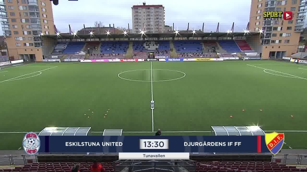 Highlights: Eskilstuna - Djurgården 1 nov