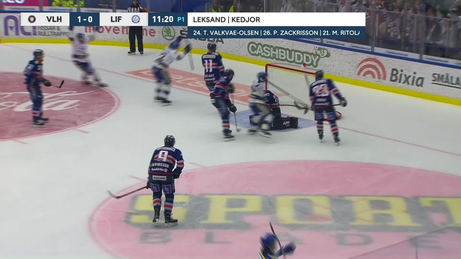Växjö Lakers - Leksands IF 1-1