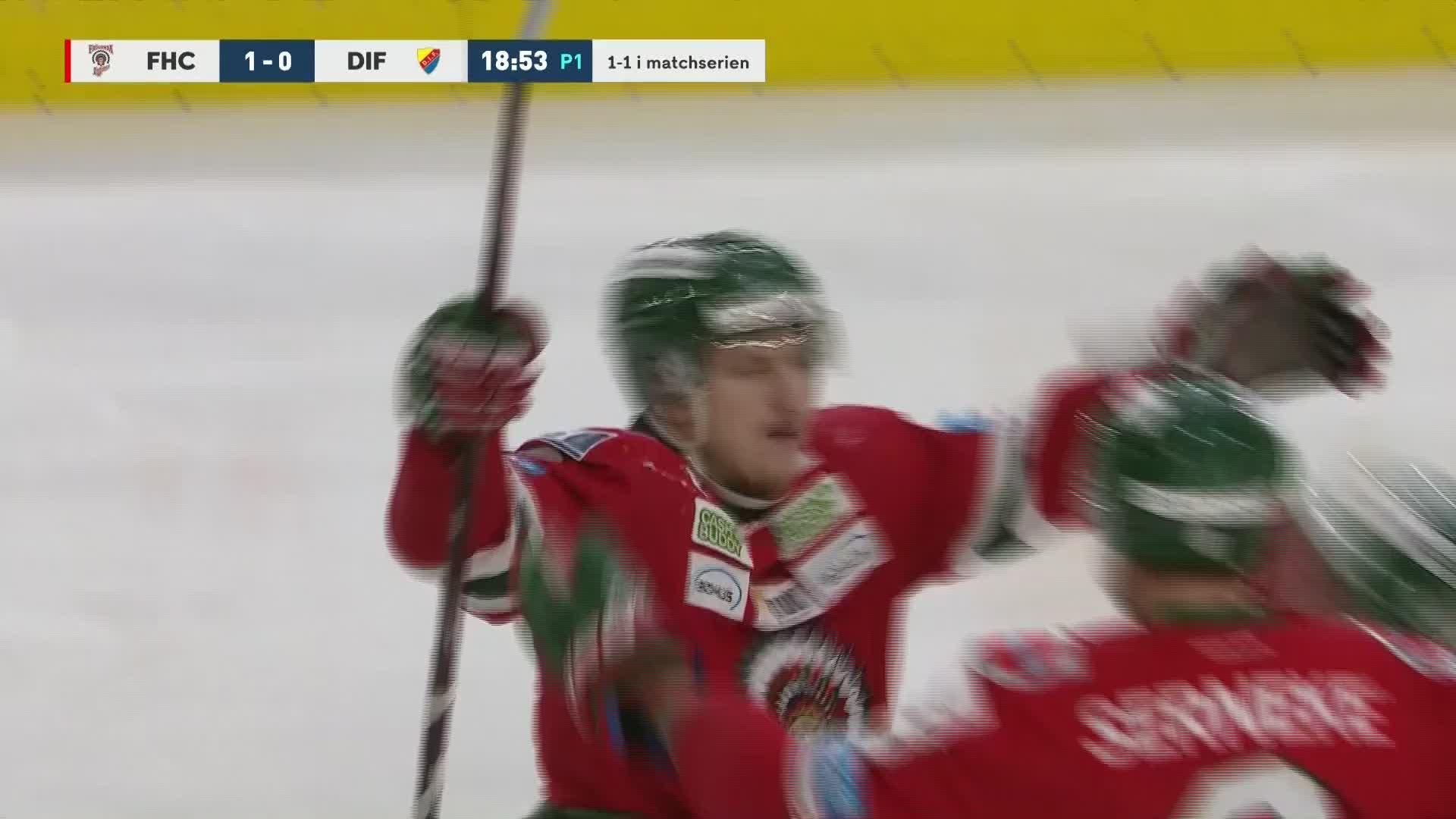 Frölunda HC - Djurgården Hockey 1-0