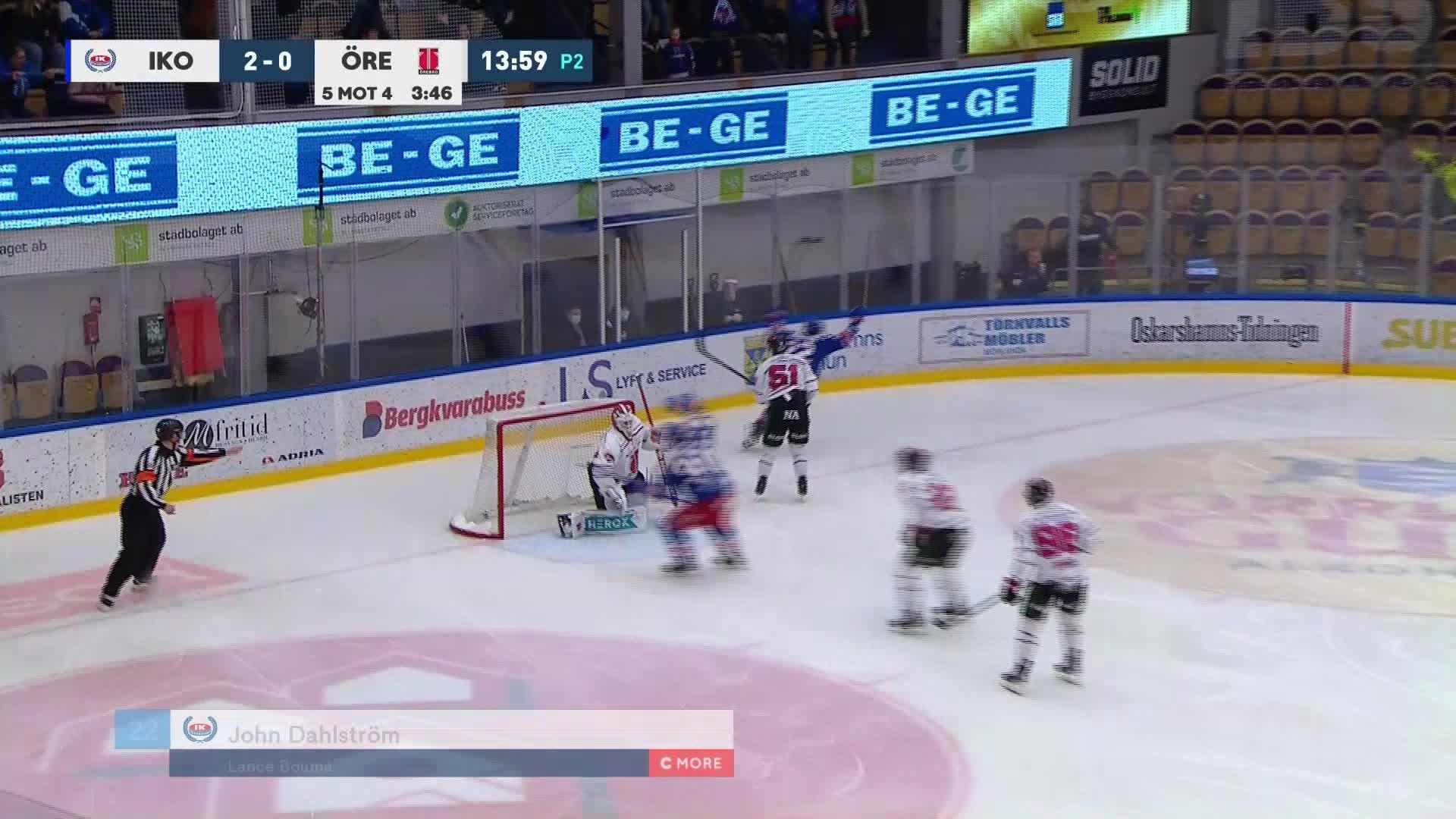 IK Oskarshamn - Örebro Hockey 3-0