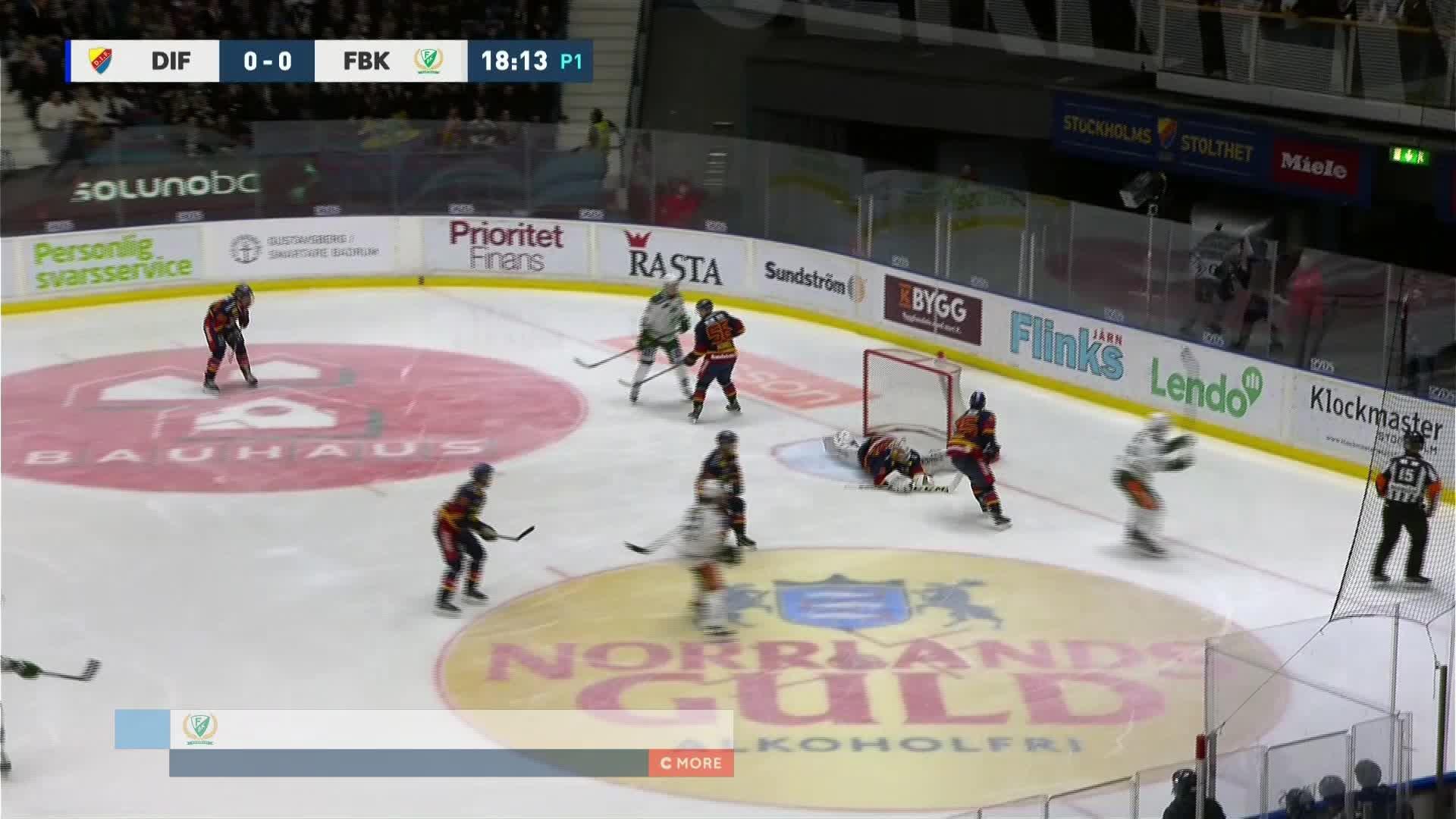 Djurgården Hockey - Färjestad BK 0-1