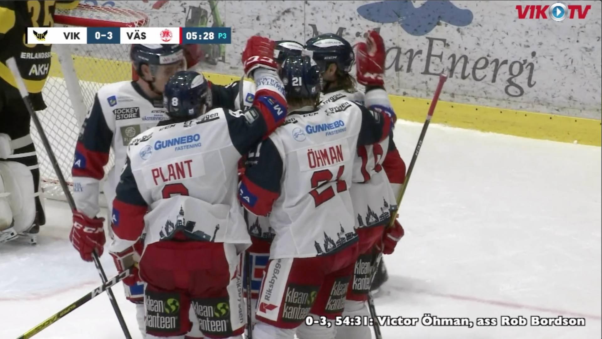 VIK-TV: Highlights Västerås-Västervik 0-3 från C More