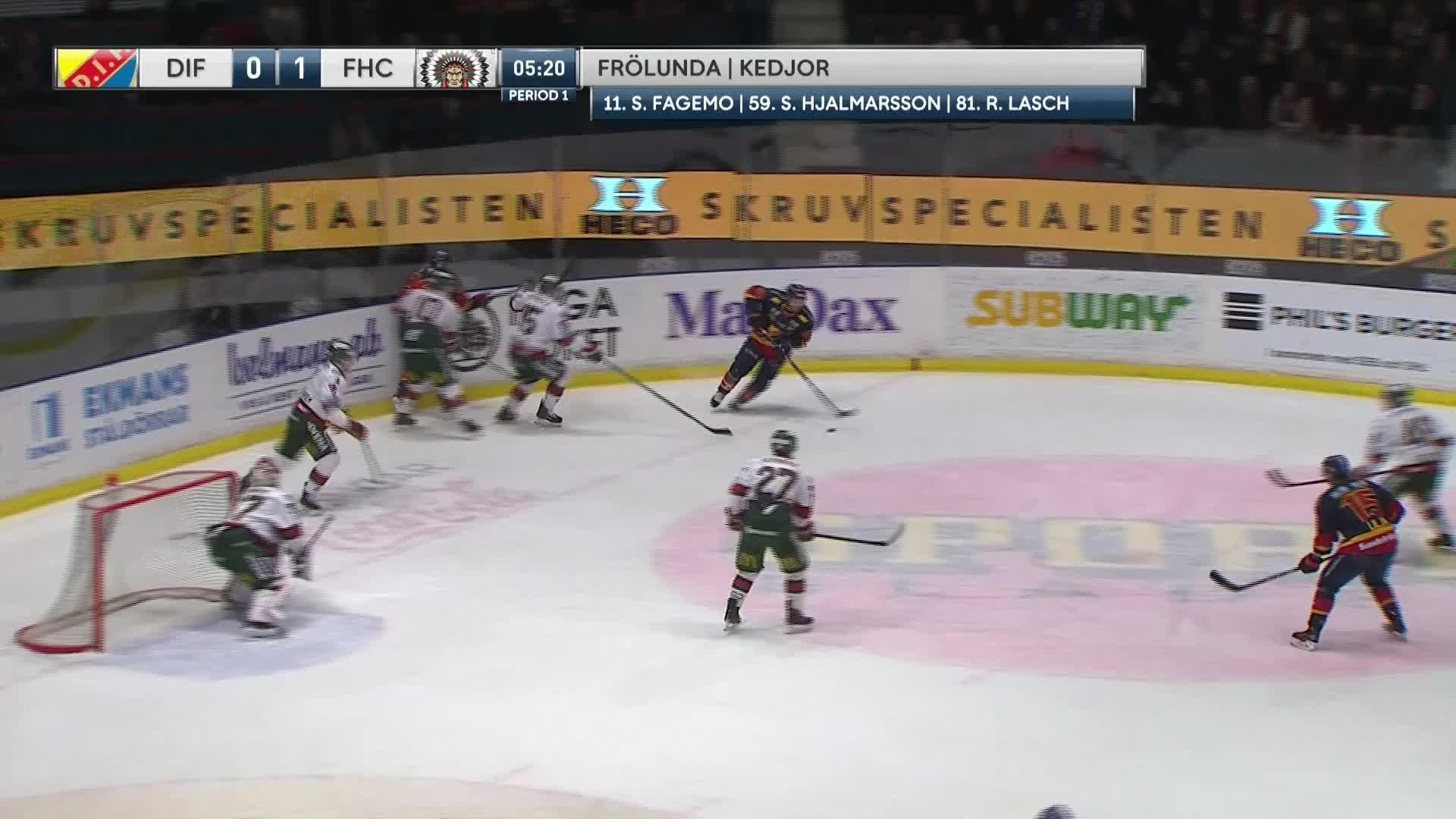 Djurgården Hockey - Frölunda HC 1-1