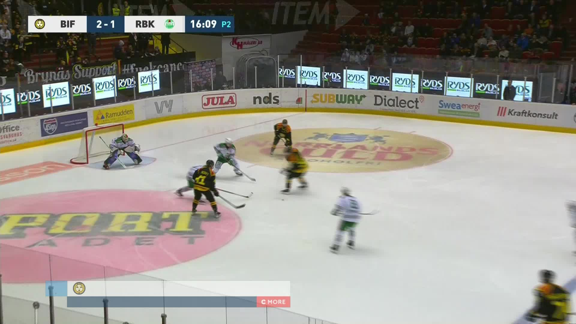 Brynäs IF - Rögle BK 3-1