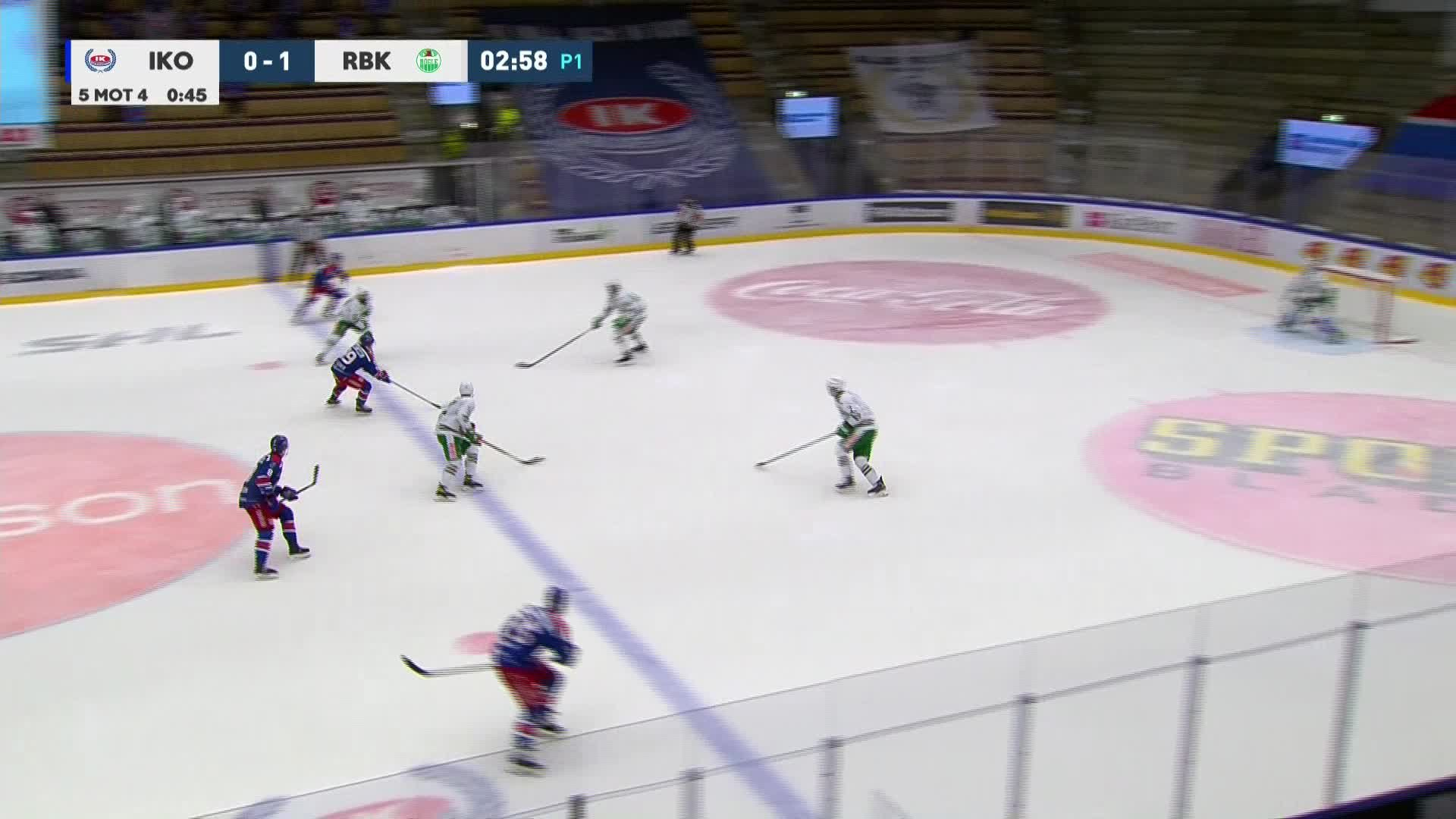 IK Oskarshamn - Rögle BK 1-1