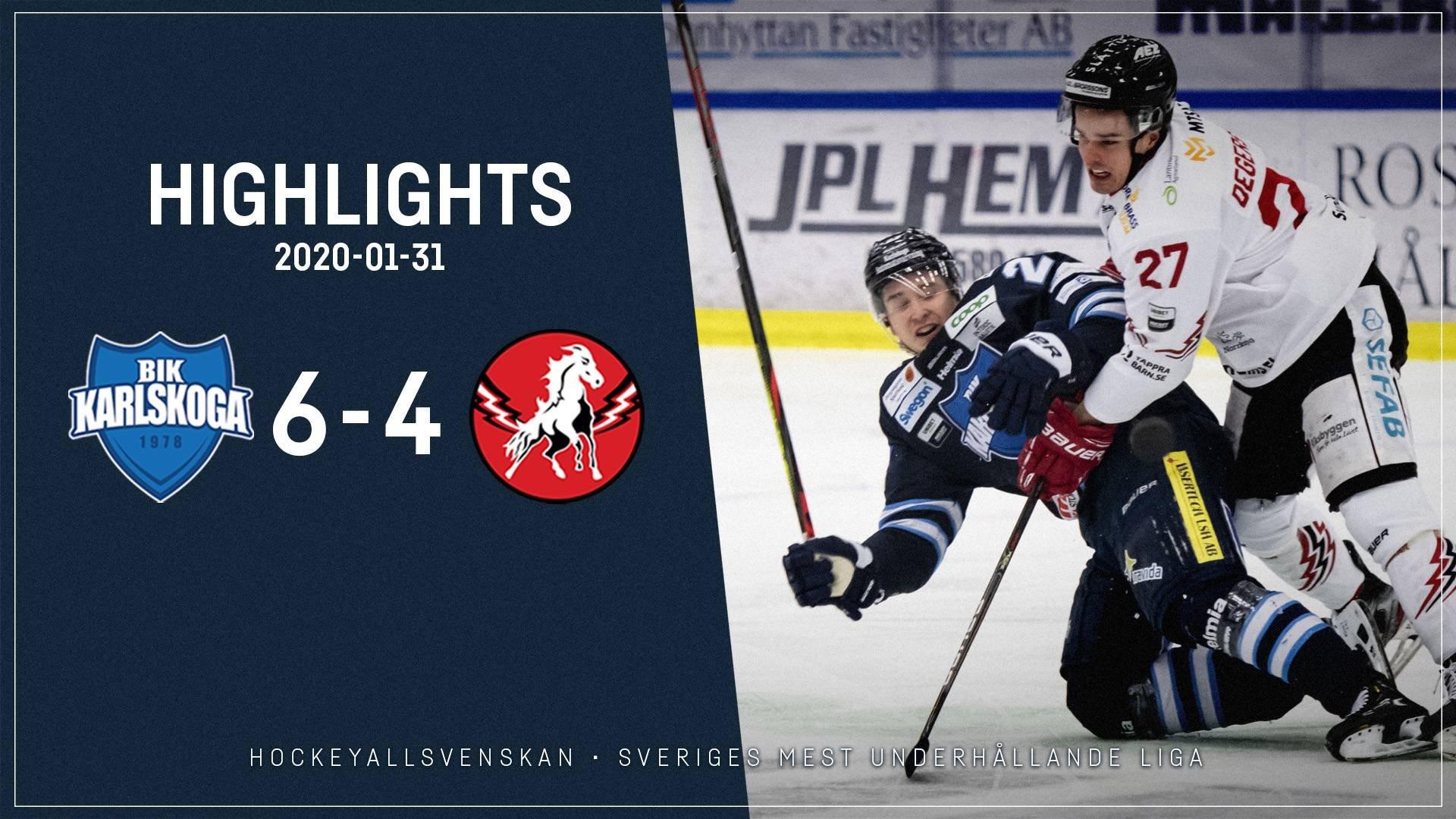 2020-01-31 Karlskoga - Vita Hästen 6-4