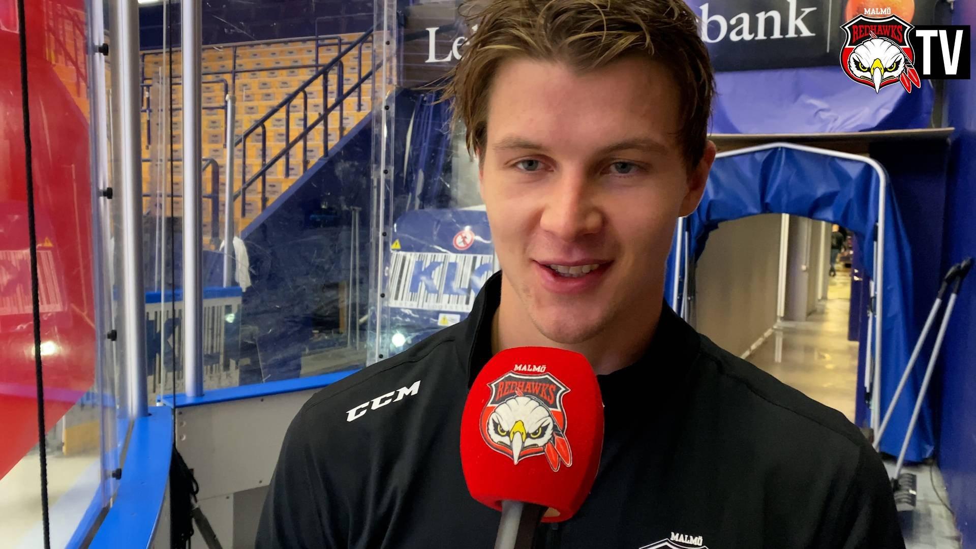 TV: Ollas Mattsson efter sitt avgörande mål