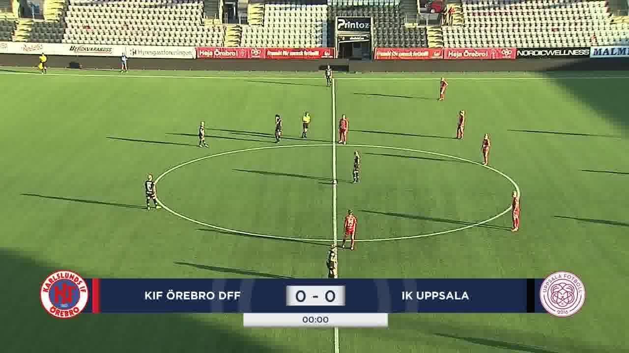 Highlights: Örebro - Uppsala 12 aug