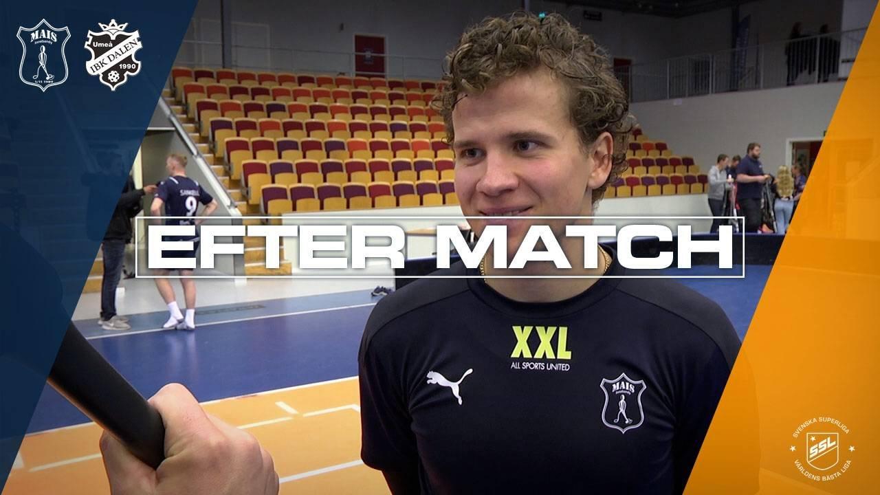 Larsson efter segern mot IBK Dalen | Omgång 5