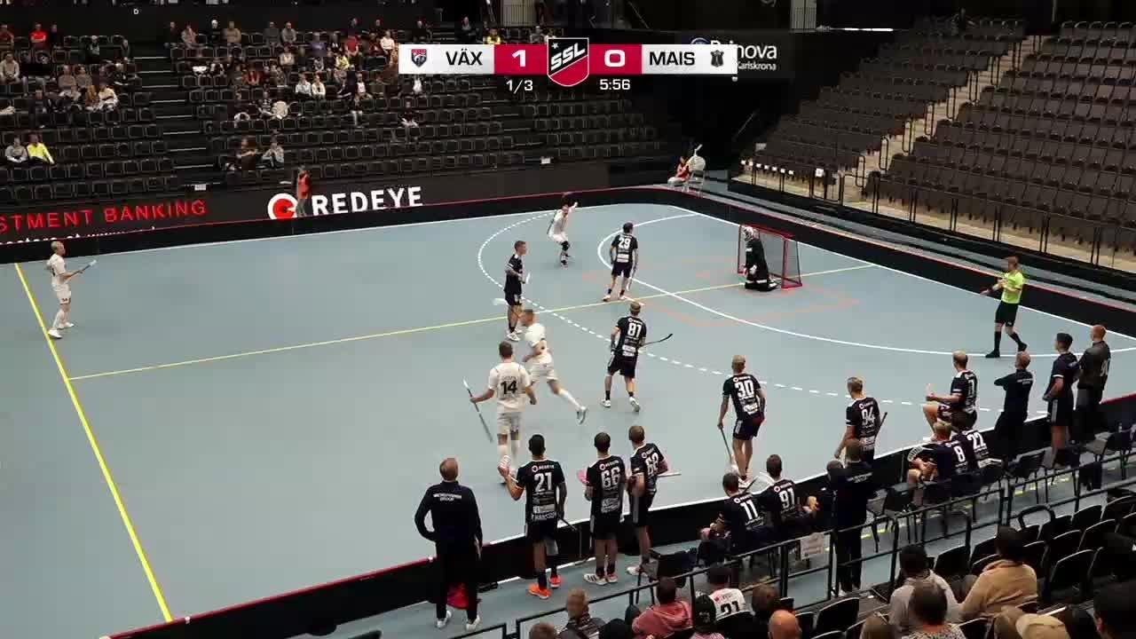 Highlights: Växjö Vipers-Mullsjö AIS