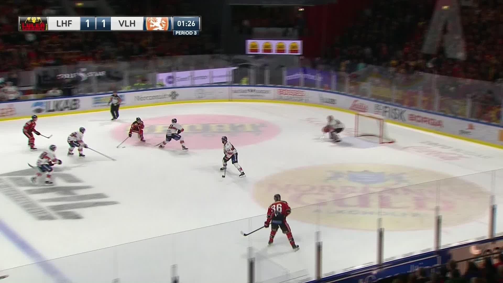 Luleå Hockey - Växjö Lakers 2-1
