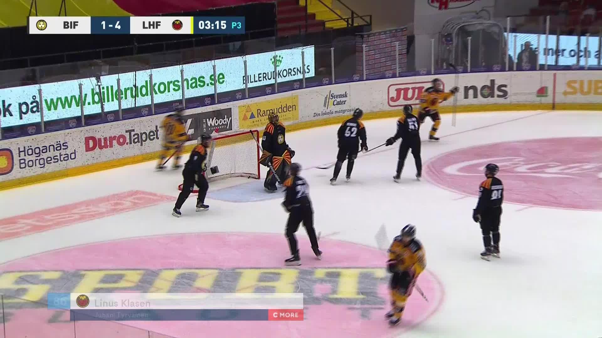 Brynäs IF - Luleå Hockey 1-5