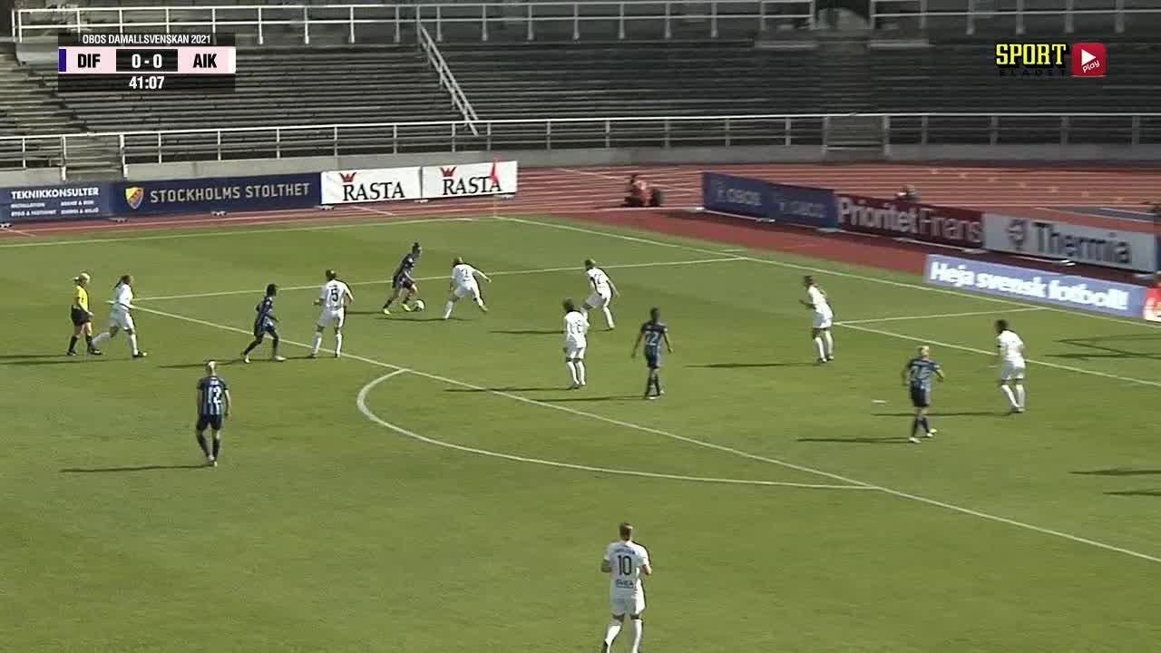 Highlights: Djurgårdens IF FF - AIK