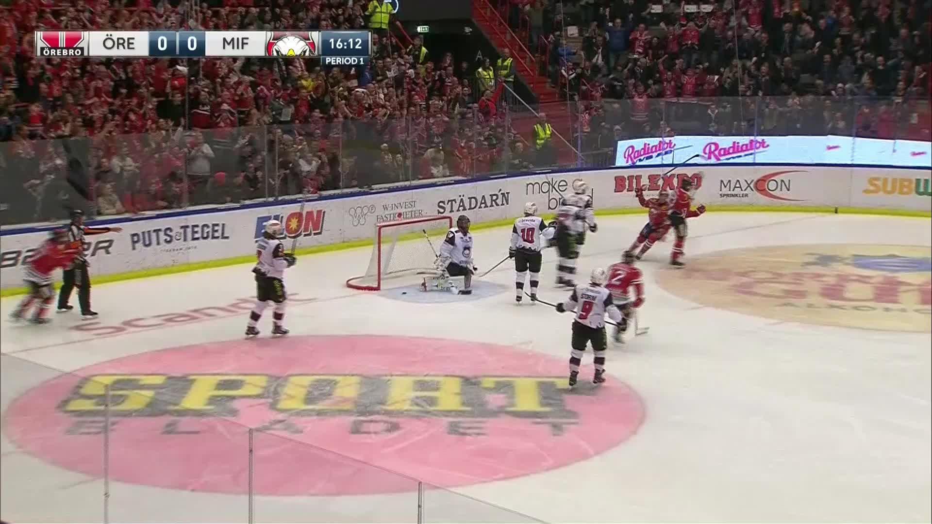 Örebro Hockey - Malmö Redhawks 1-0