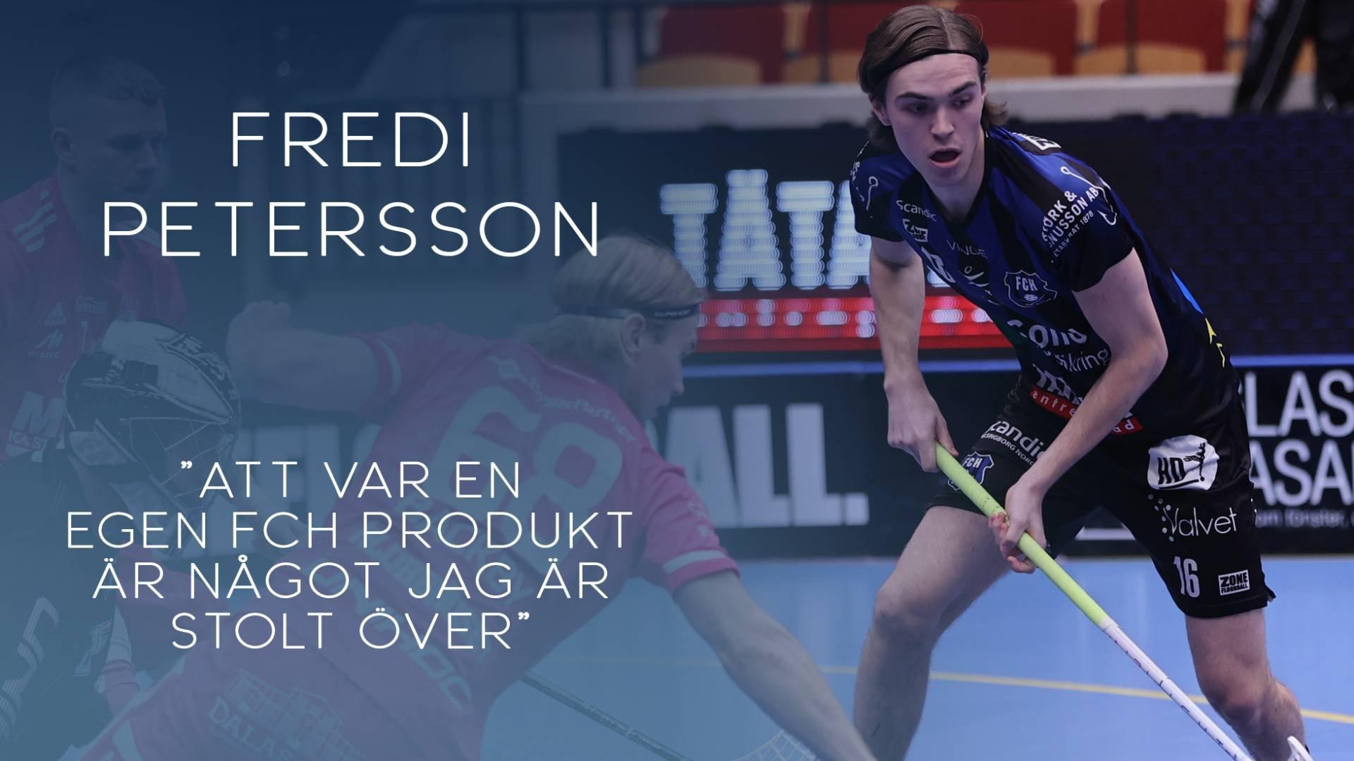 Fredi Petersson förlänger