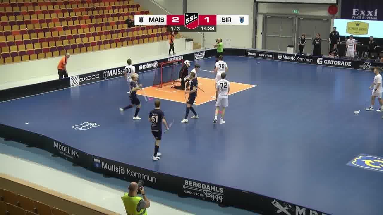 Highlights: Mullsjö AIS - Sirius Innebandy
