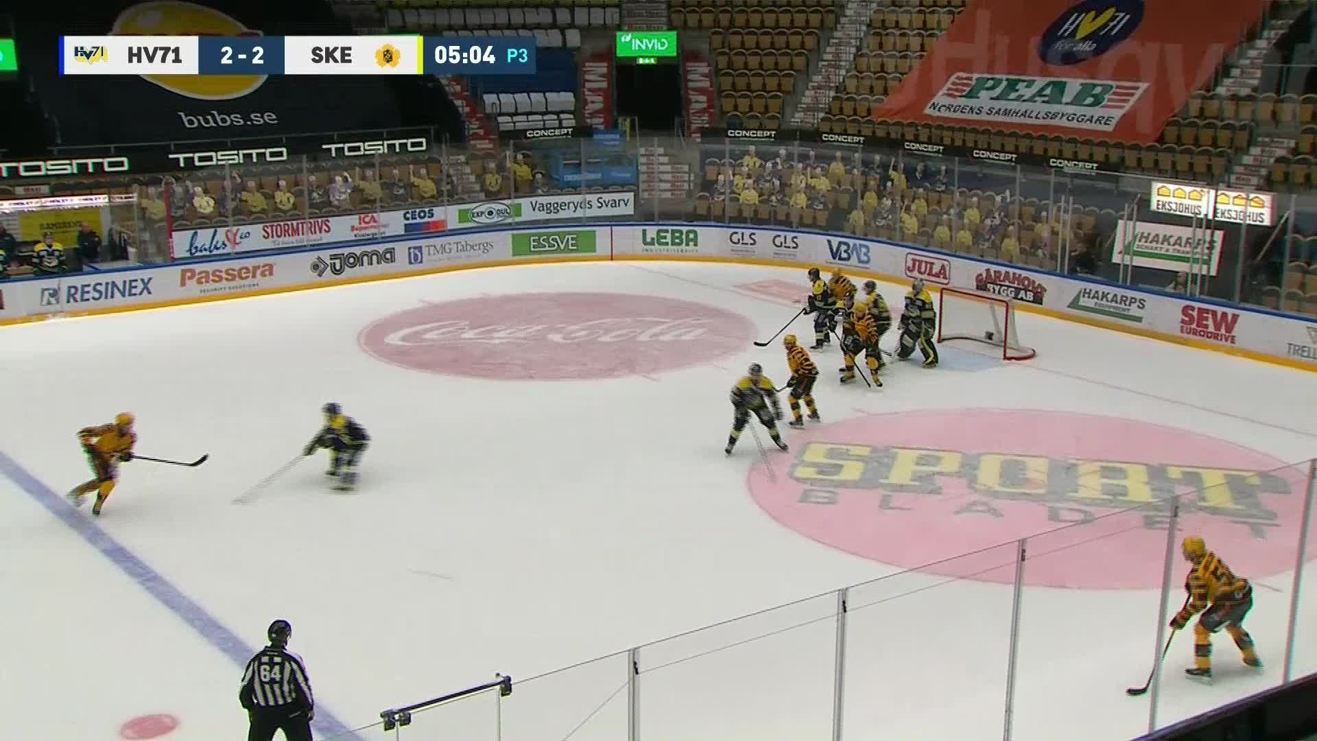 HV71 - Skellefteå AIK 2-3