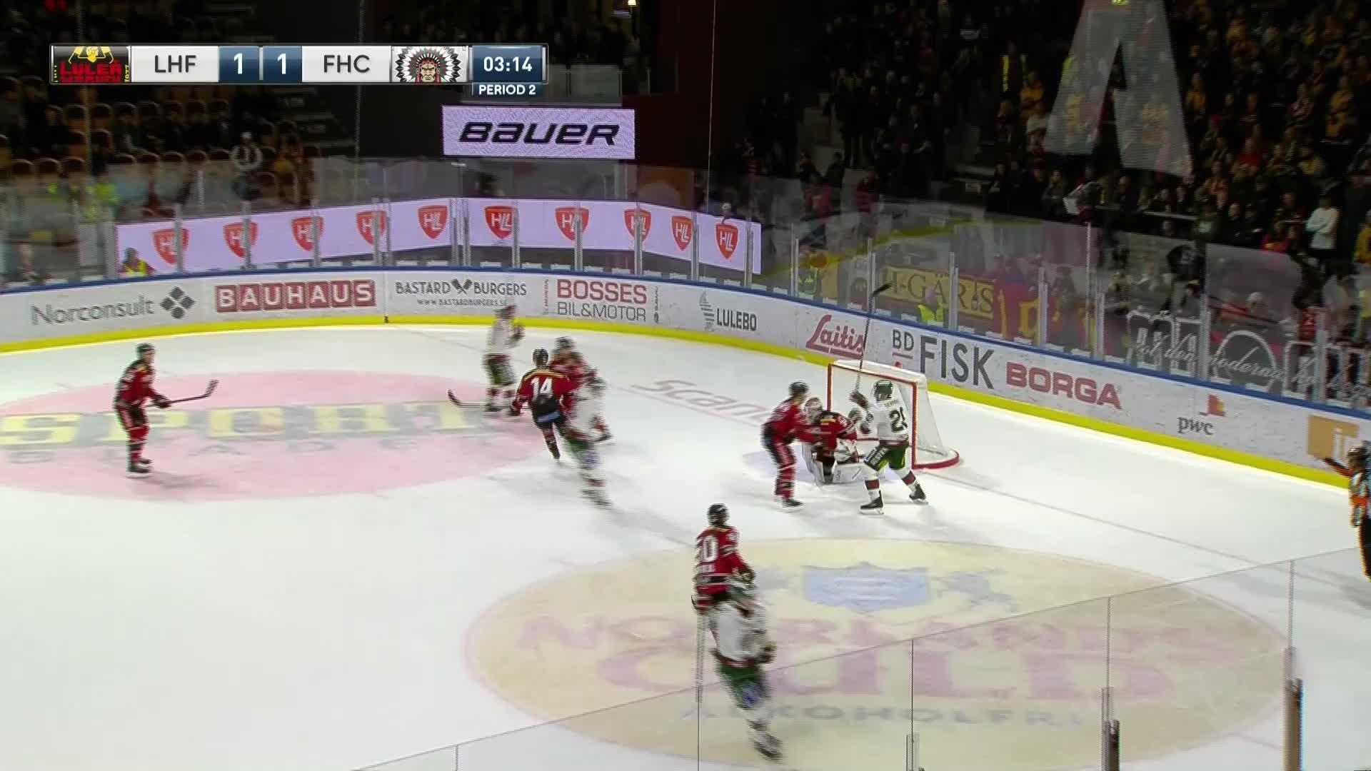 Luleå Hockey - Frölunda HC 1-2