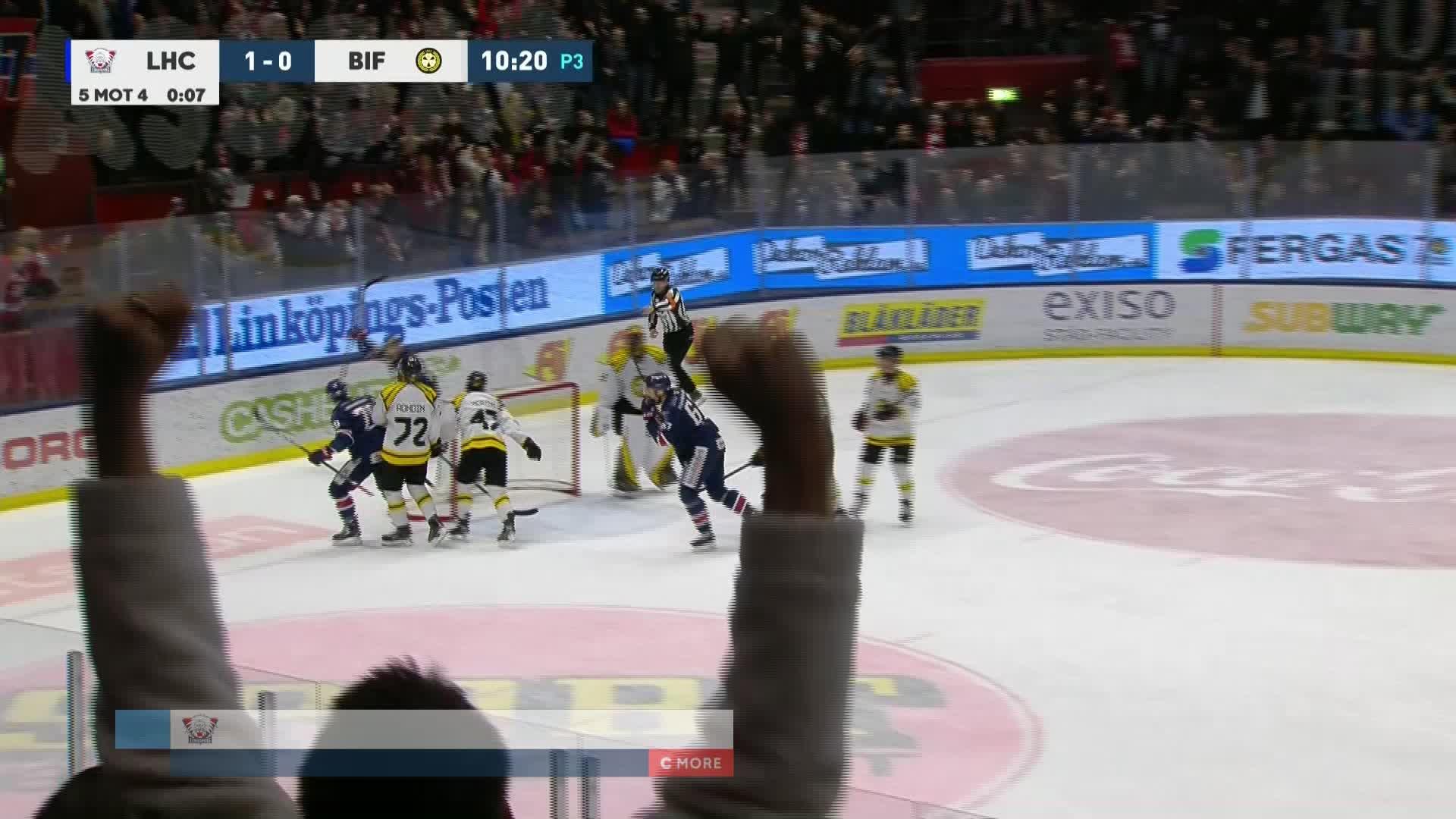 Linköping HC - Brynäs IF 2-0
