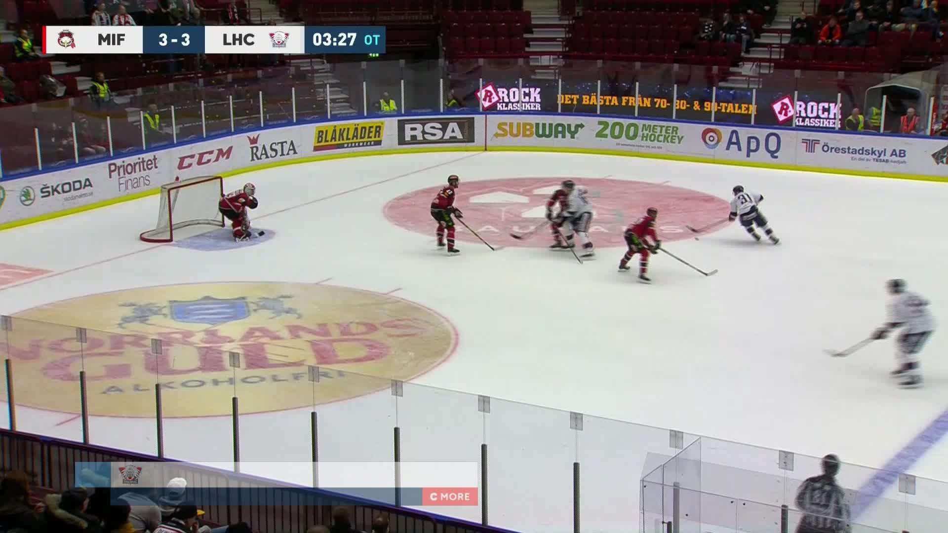 Malmö Redhawks - Linköping HC 3-4