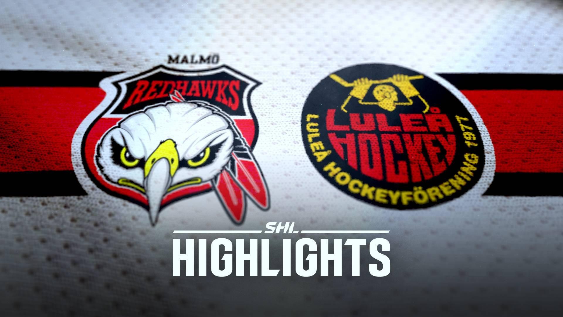 Malmö Redhawks - Luleå Hockey