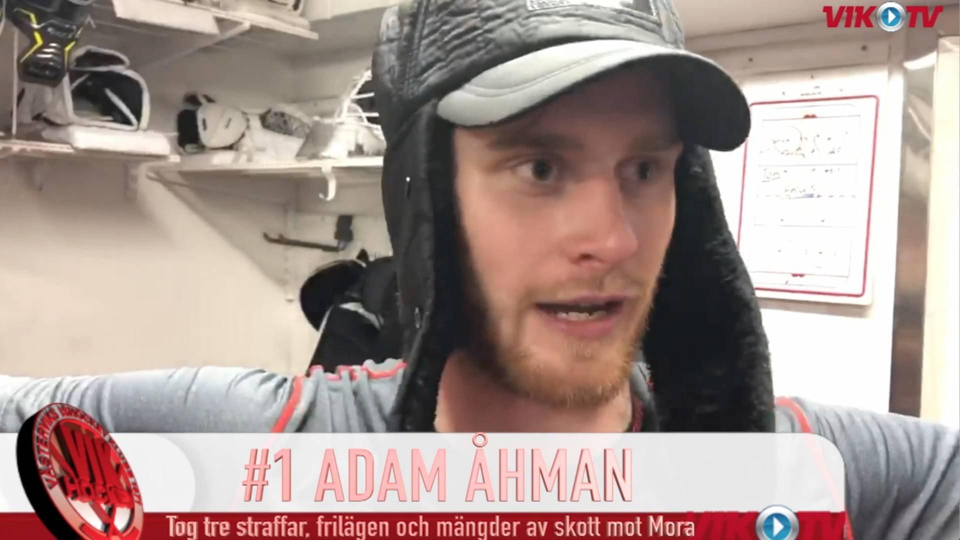 VIK-TV: Omklädningsrumsjubel och Adam Åhman-intervju efter VIK-Mora 3-2 e str