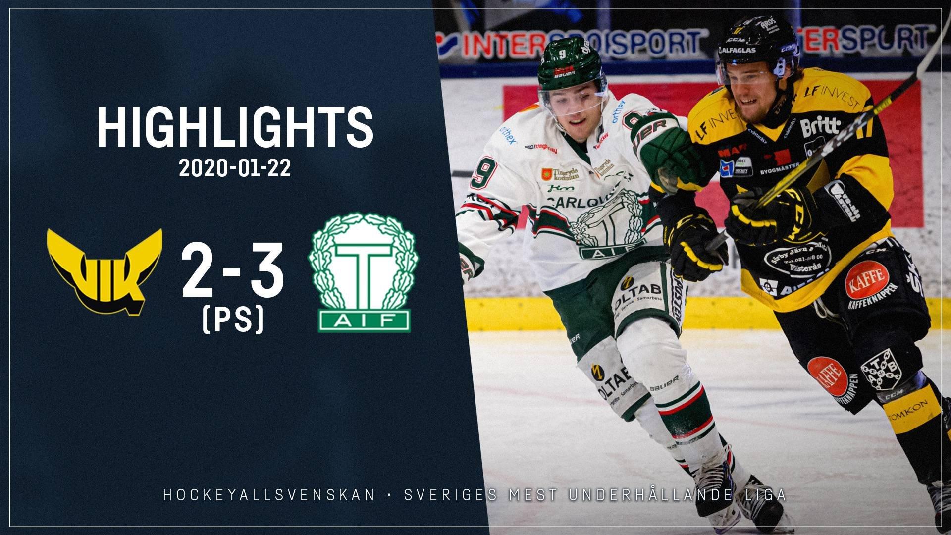 2020-01-22 Västerås - Tingsryd 2-3 (PS)