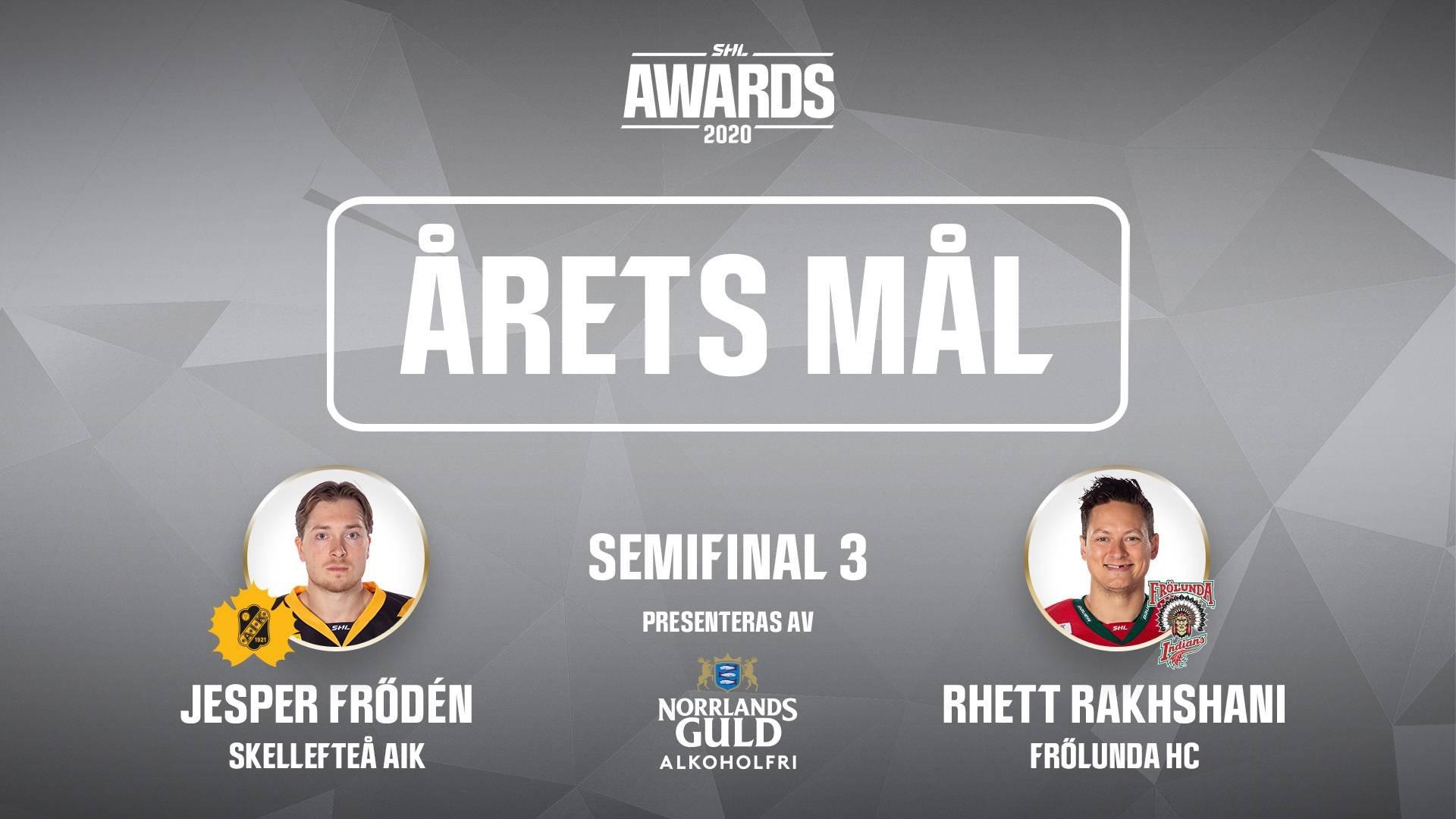 Årets mål 2019/2020 - Semifinal 3