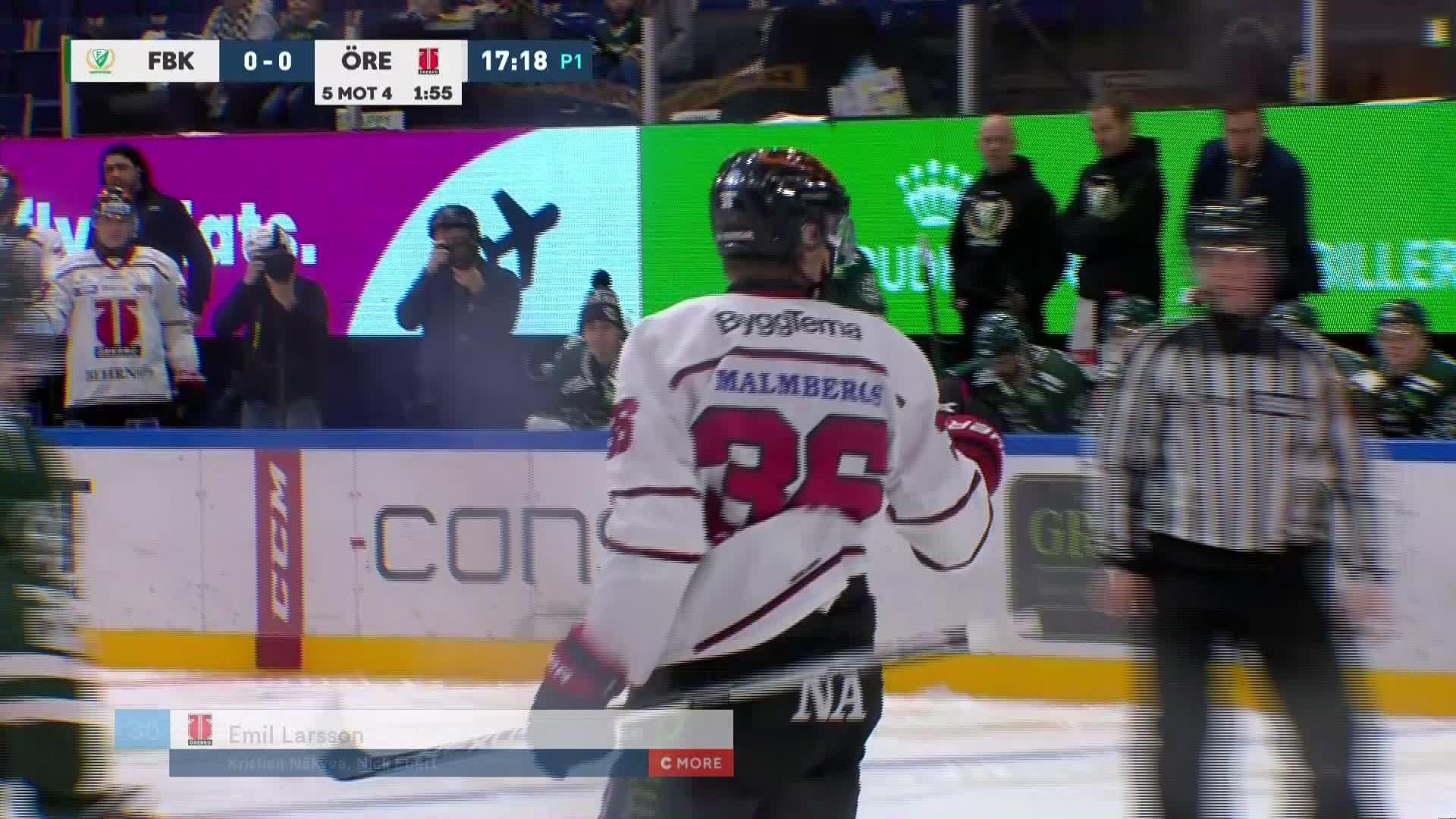 Färjestad BK - Örebro Hockey 0-1