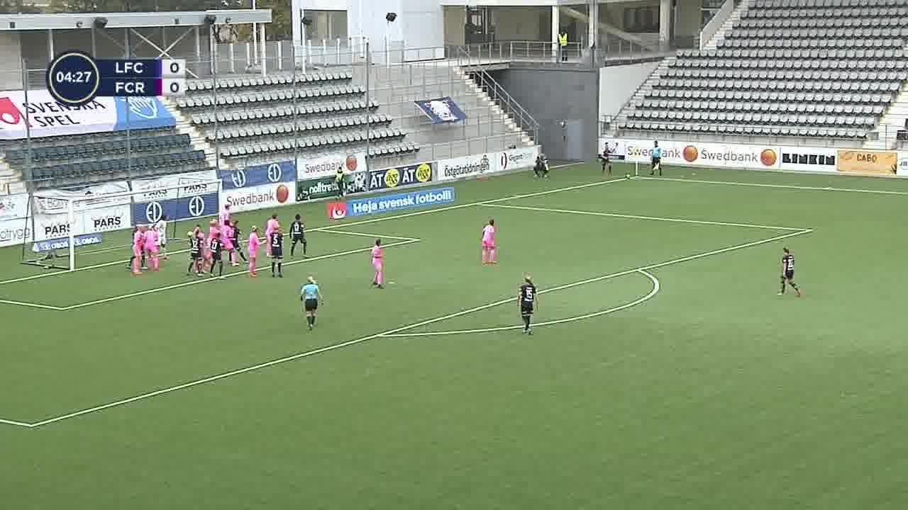 Highlights: Linköping - FC Rosengård 3 okt