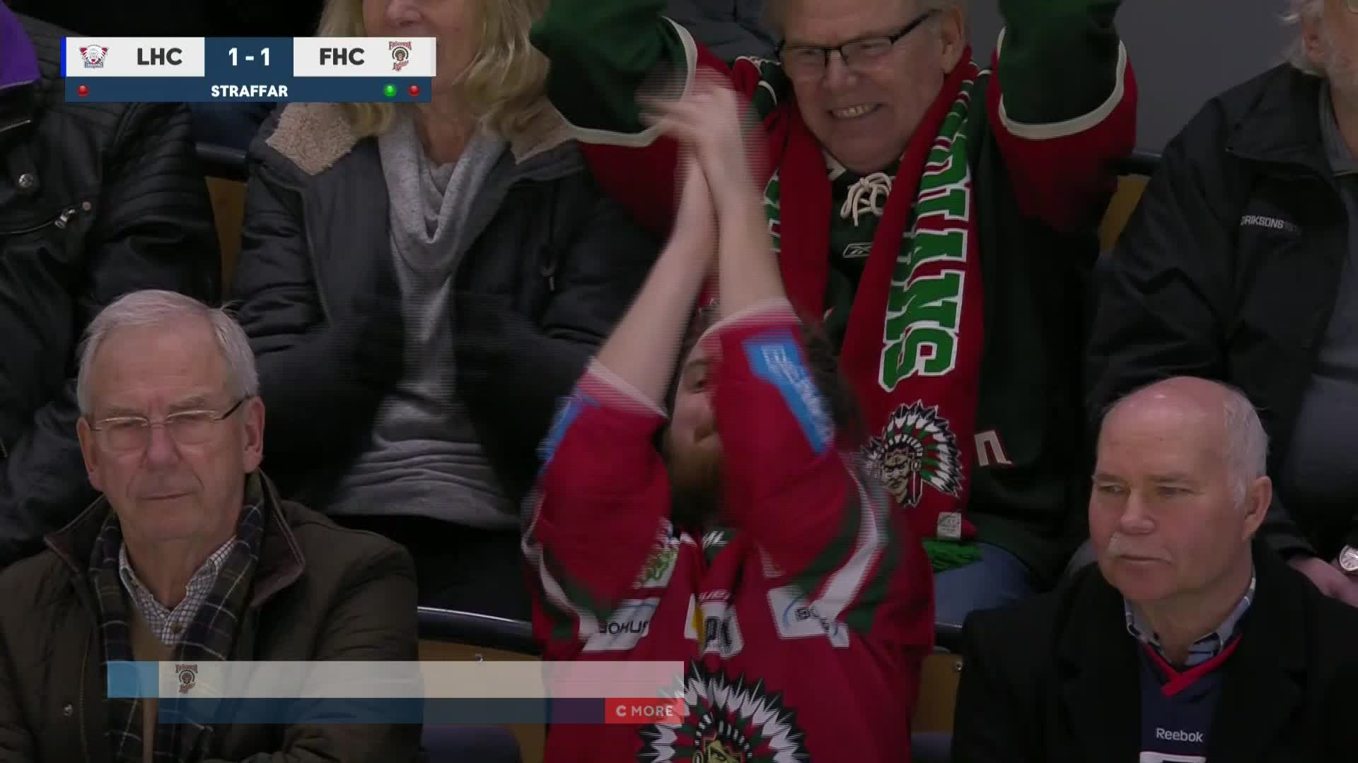 Linköping HC - Frölunda HC 1-2