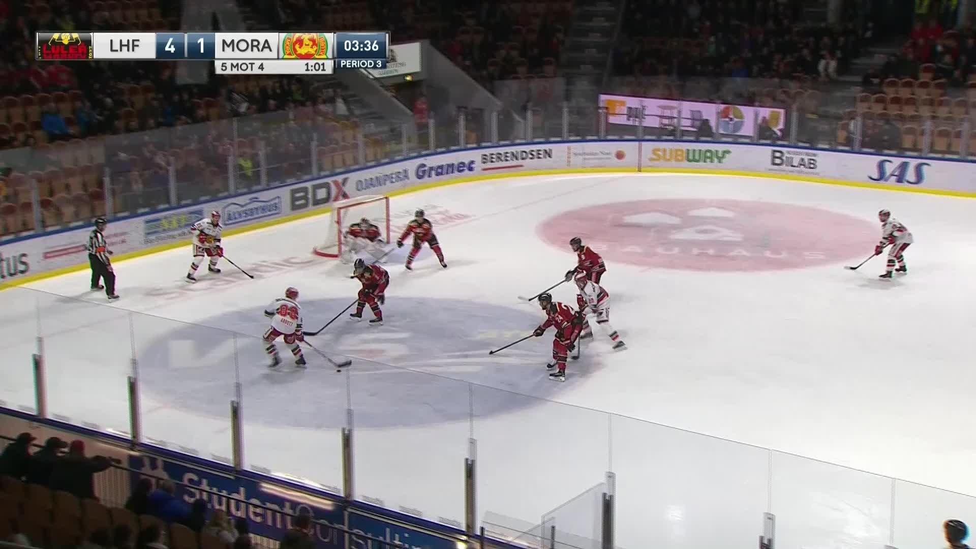 Luleå Hockey - Mora IK 4-2
