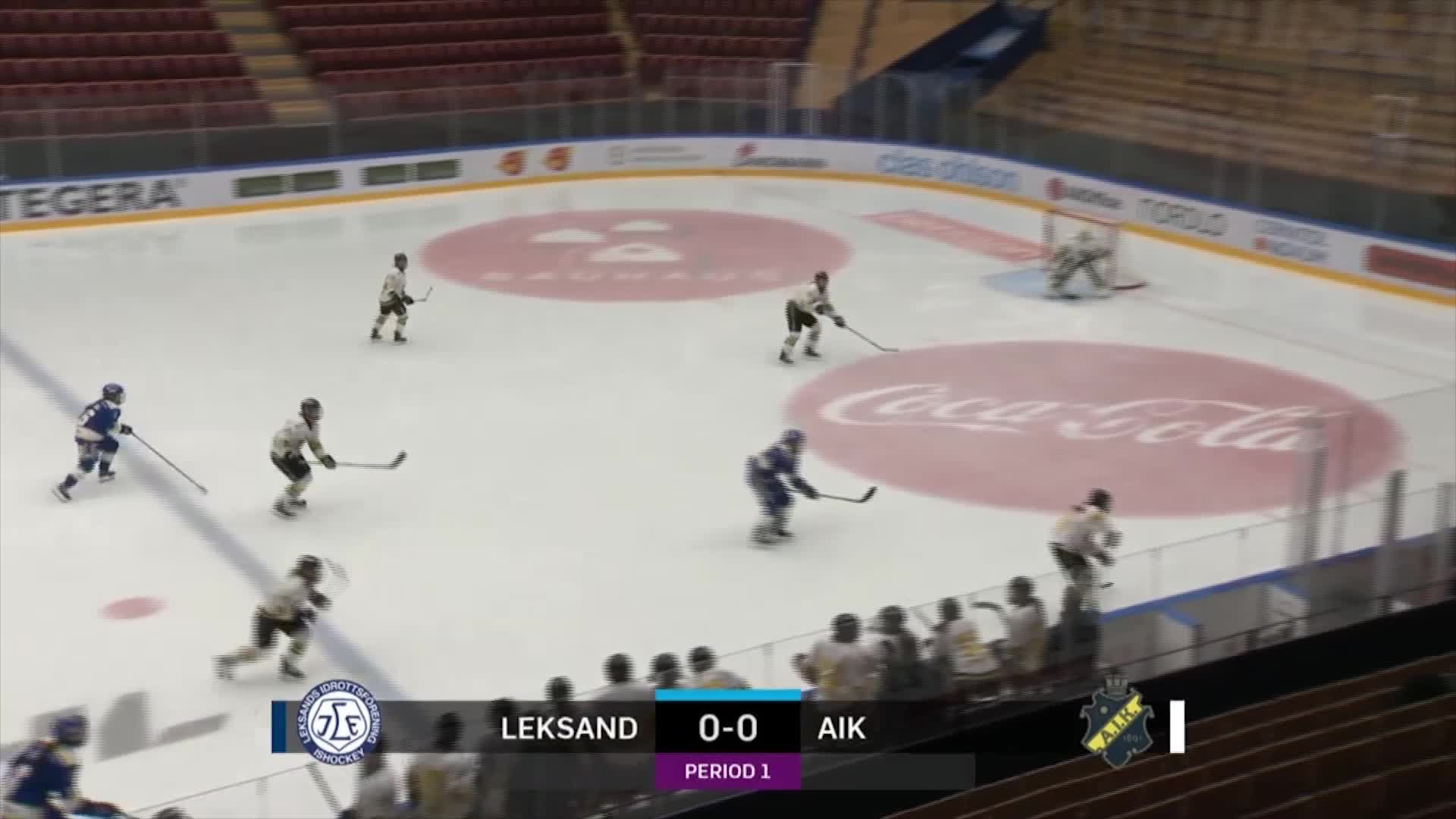 Highlights Leksand-AIK 14 februari