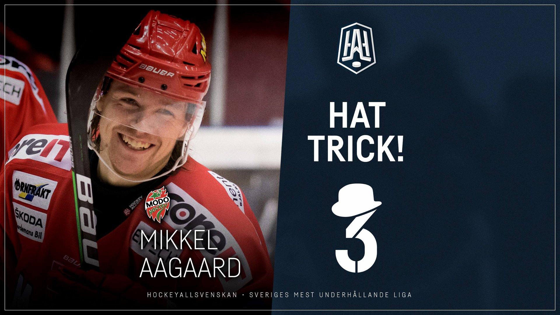 Hattrick: Mikkel Aagaard, MODO