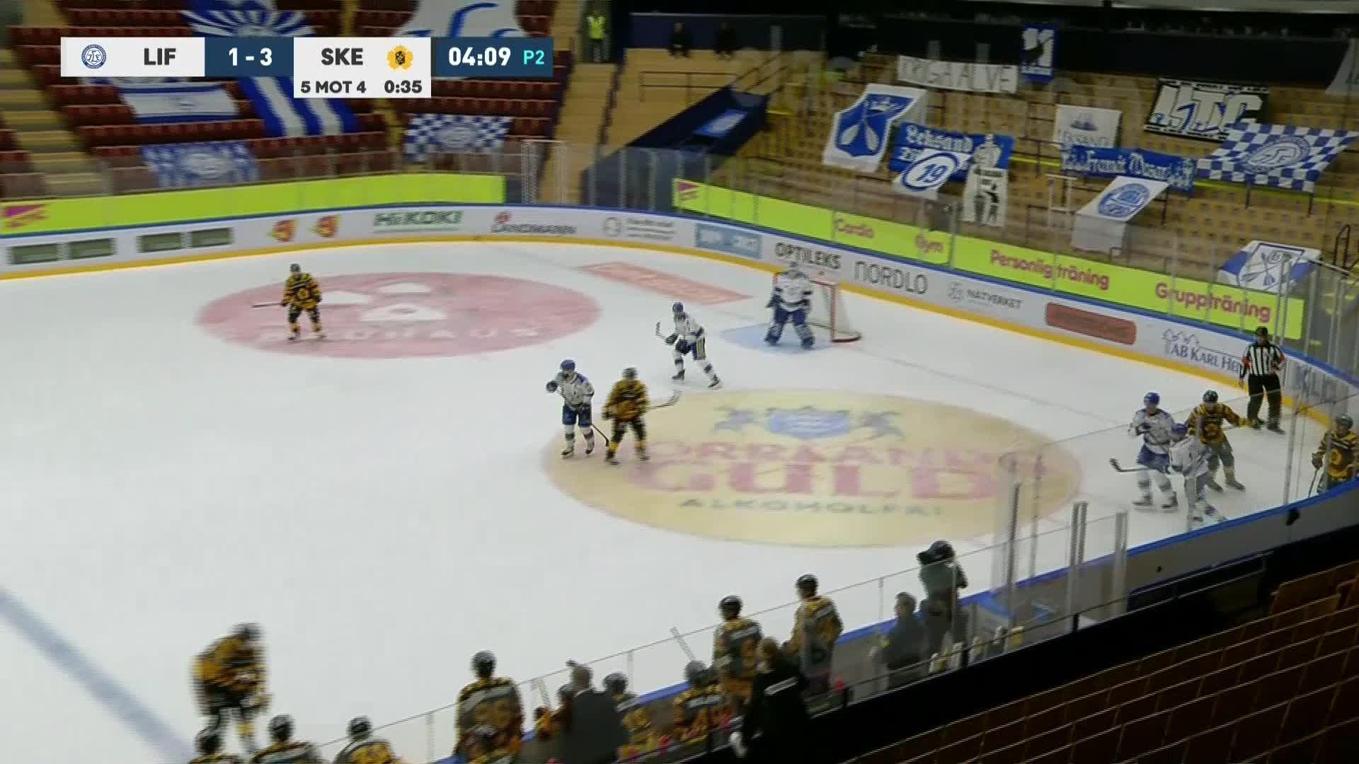 Leksands IF - Skellefteå AIK 1-4
