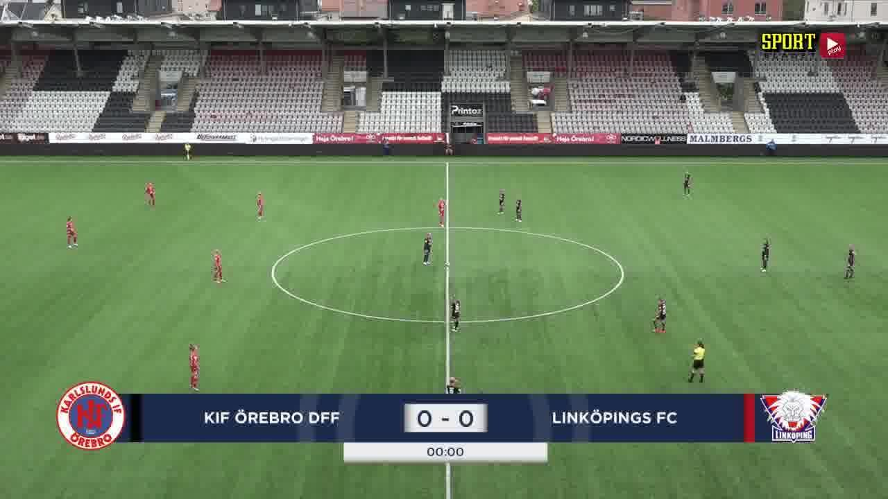 Highlights: KIF Örebro - Linköping 29 aug