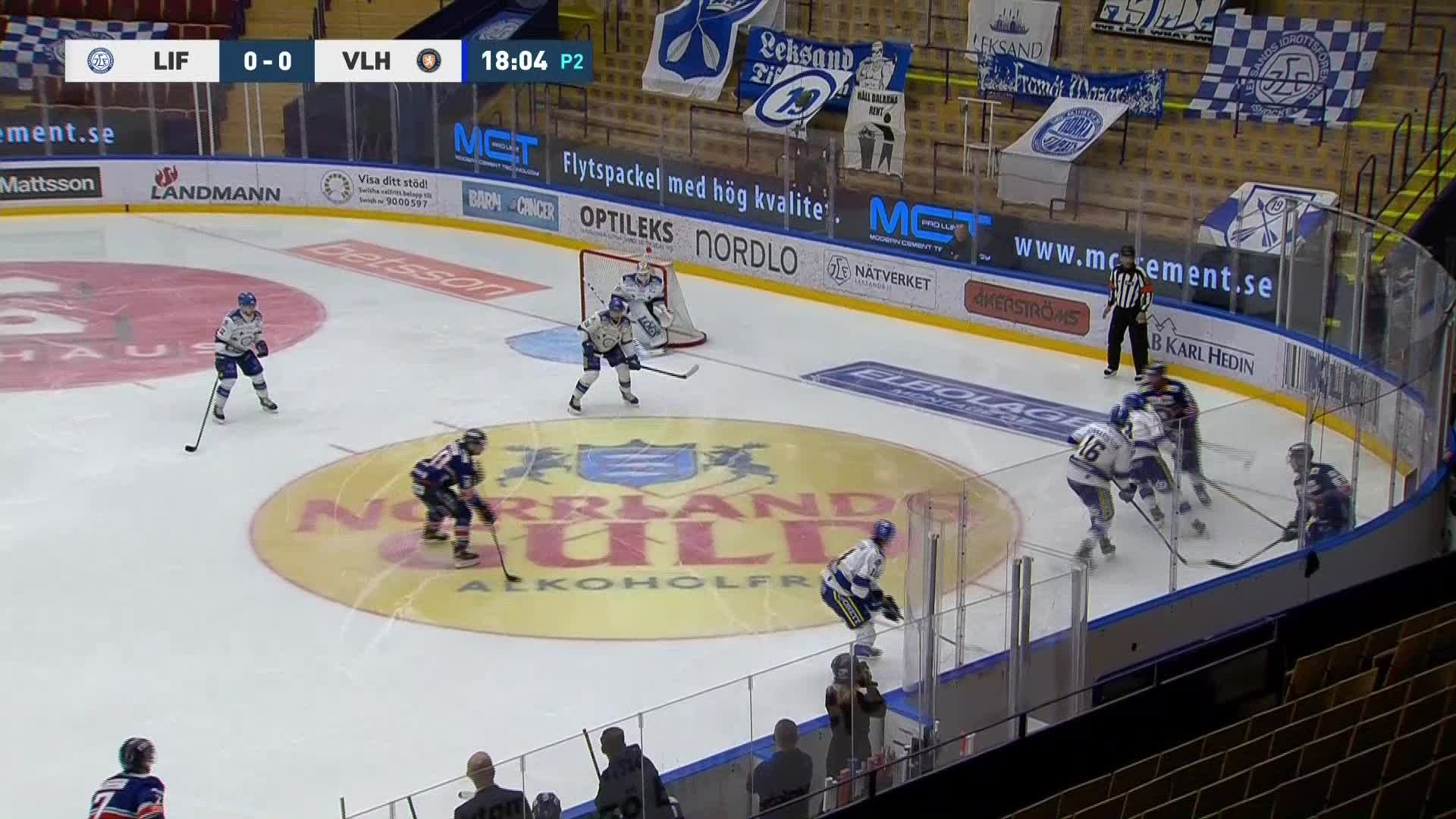 Leksands IF - Växjö Lakers 0-1