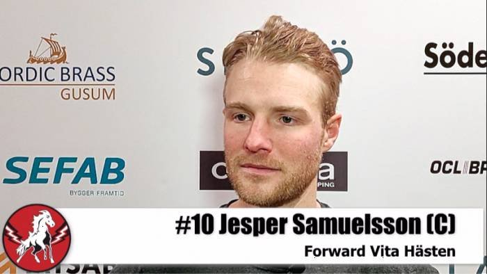 Jesper Samuelsson efter Karlskrona