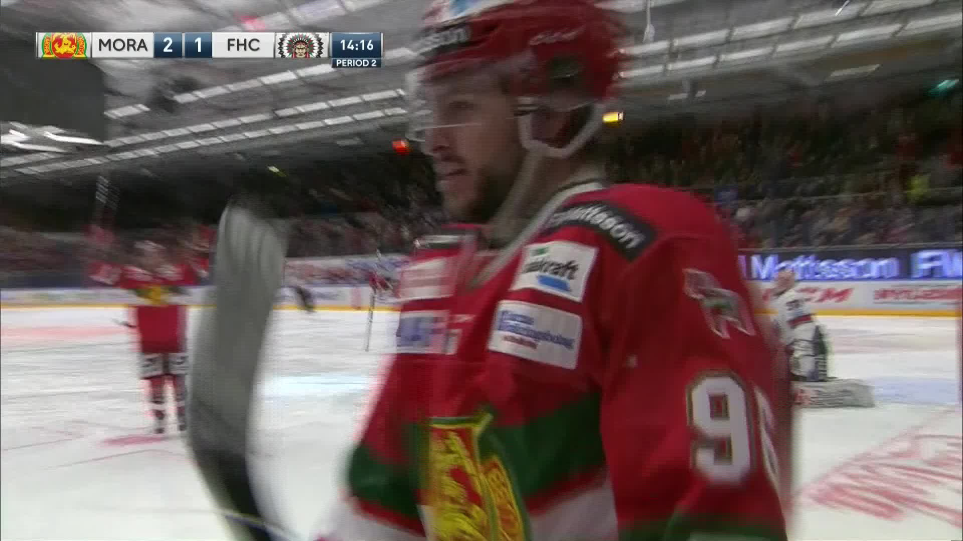 Mora IK - Frölunda HC 2-1
