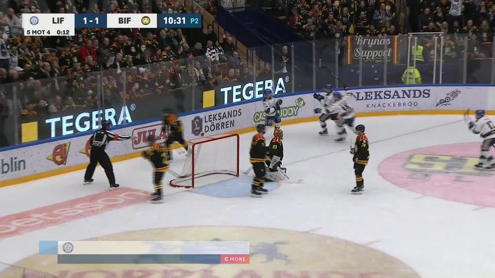 Leksands IF - Brynäs IF 2-1