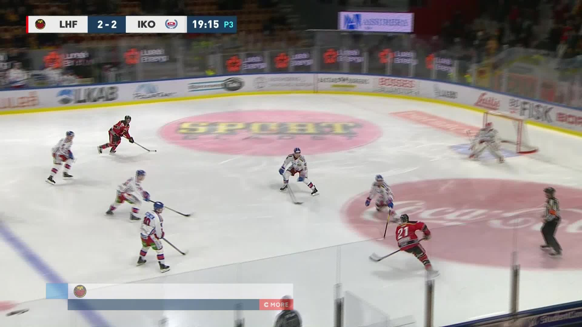 Luleå Hockey - IK Oskarshamn 3-2
